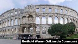 Rimski Koloseum gdje su se danas molili muslimani