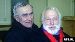 Аляксандар Салаўян і Барыс Хамайда, архіўнае фота