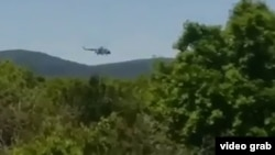 Российский военный вертолет накануне нарушил воздушное пространство Грузии