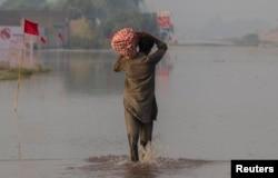 یو سیلاب ځپلی
