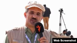 Radio Farda correspondent Rasool Mahmood, reporting from Mosul, Iraq
