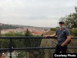 Павал Цітавец у Празе