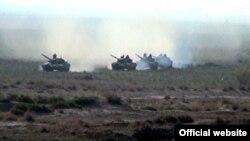 Учения армии Азербайджана (архив)