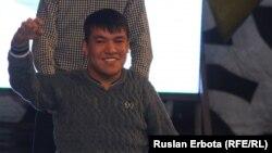 Фесивальге қатысушы Арман Кенжебаев. Астана, 18 қараша 2015 жыл.