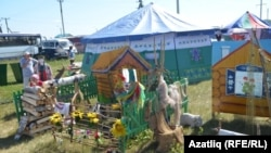 Бәйгегә Төмән районы әзерләгән татар йорты