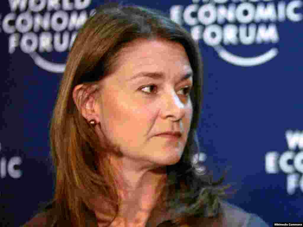 6. Bill & Melinda Gates вакыфы рәистәше Мелинда Гейтс (47)