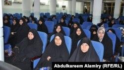 نساء من البصرة في مهرجان ممثلية المصالحة الوطنية