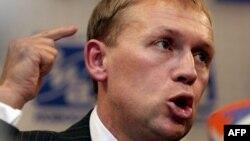 Подозреваемый в убийстве офицера российской Федеральной службы безопасности Александра Литвиненко Андрей Луговой.