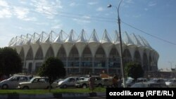 """Бунёдкор"" стадиони ҳам Мустақилликнинг 21 йиллиги арафасида кўз-кўз қилинган иншоотлардан биридир."