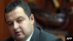 Socialist leader Ivica Dacic could hold the balance of power in the new Serbian parliament.