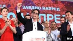 Стево Пендаровски по победата на претседателските избори 2019