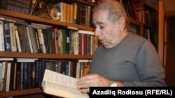 Azerbaijan -- Azerbaijani writer Akram Aylisli, Baku, 01Feb2012