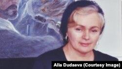 Алла Дудаева, вдова Джохара Дудаева
