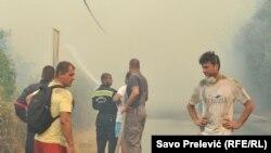 Чорногорія потерпає від лісових пожеж, 17 червня 2017