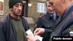 Russia -- Tajik migrants in Russia, undated