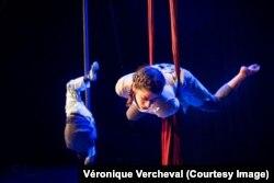 """Аштар Муаллем и Фади Зморрод, """"B-Orders"""", Palestinian Circus"""