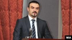 Министерот за економија Валон Сарачини.