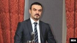 Архивска фотографија: Министерот за економија Ваљон Сарачини.