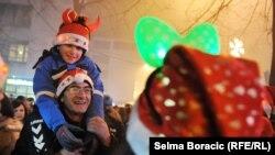 Doček Nove godine u Sarajevu