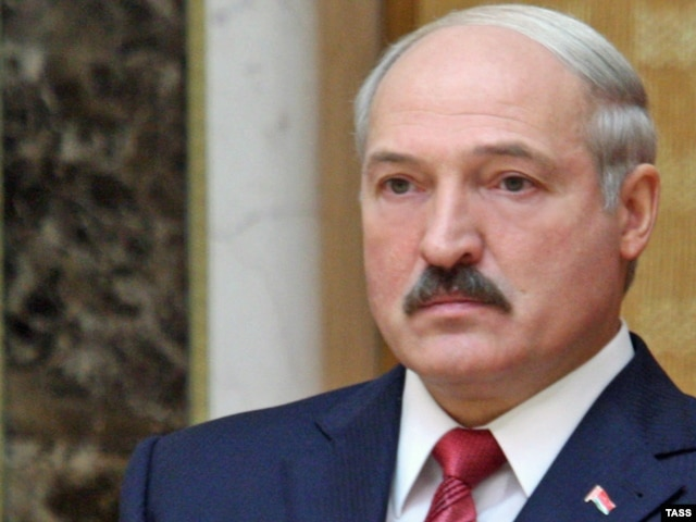Ready for takeoff: President Alyaksandr Lukashenka