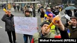 Protesti u Sarajevu, 6. mart 2014.