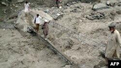 Pamje pas vërshimeve të vitit të kaluar në Çitral të Pakistanit
