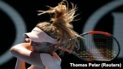 У чвертьфінальному матчі Еліна Світоліна (на фото) переграла німкеню Анджелік Кербер