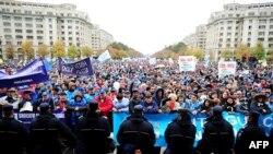 Proteste sindicale zece ani mai tîrziu