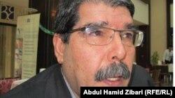 Салих Муслим в бытность в составе руководства партии «Демократический союз» (PYD).