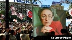О событиях в Благовещенске Анна Политковская отыскала больше фактов, чем местные журналисты
