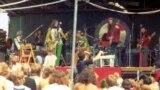 Concert gratis Gong în Hyde Park, 1974.