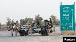 Ирак -- Мосулдун жанындагы аскерлер, 12-июнь, 2014.