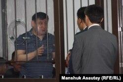 """Один из подсудимых по """"Хоргосскому делу"""". Алматы, 20 июня 2013 года."""