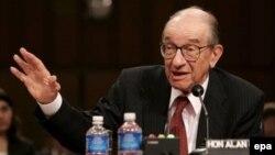 АҚШ Федералдық резер жүйесінің бұрынғы басшысы Алан Гринспен. Вашингтон, 7 маусым 2006 жыл.