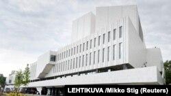 Хельсинки. Будущий пресс-центр саммита