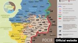Ситуація в зоні бойових дій на Донбасі, 7 грудня 2014 року