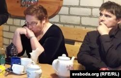 Паліна Сьцепаненка і Зьміцер Вішнёў