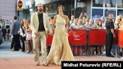 Hrvatski glumci na crvenom tepihu Sarajevo Film Festivala 2012. godine
