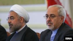Iranian President Hassan Rohani (left) and Foreign Minister Mohammad Javad Zarif will both be attending the UN General Assembly this week.