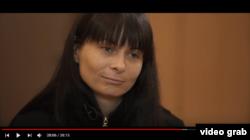 Дарія Мастікашева. Cкріншот з документального фільму Сергія Лойка «Гібридна історія»