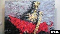 Картина Марата Бекеева из серии «Смута». Актобе, 3 декабря 2009 года.
