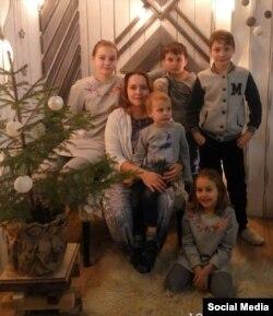 Фота са старонкі Веры Сярдзюк у Фэйсбуку