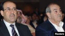 المالكي وعلاوي في جلسة لمجلس النواب