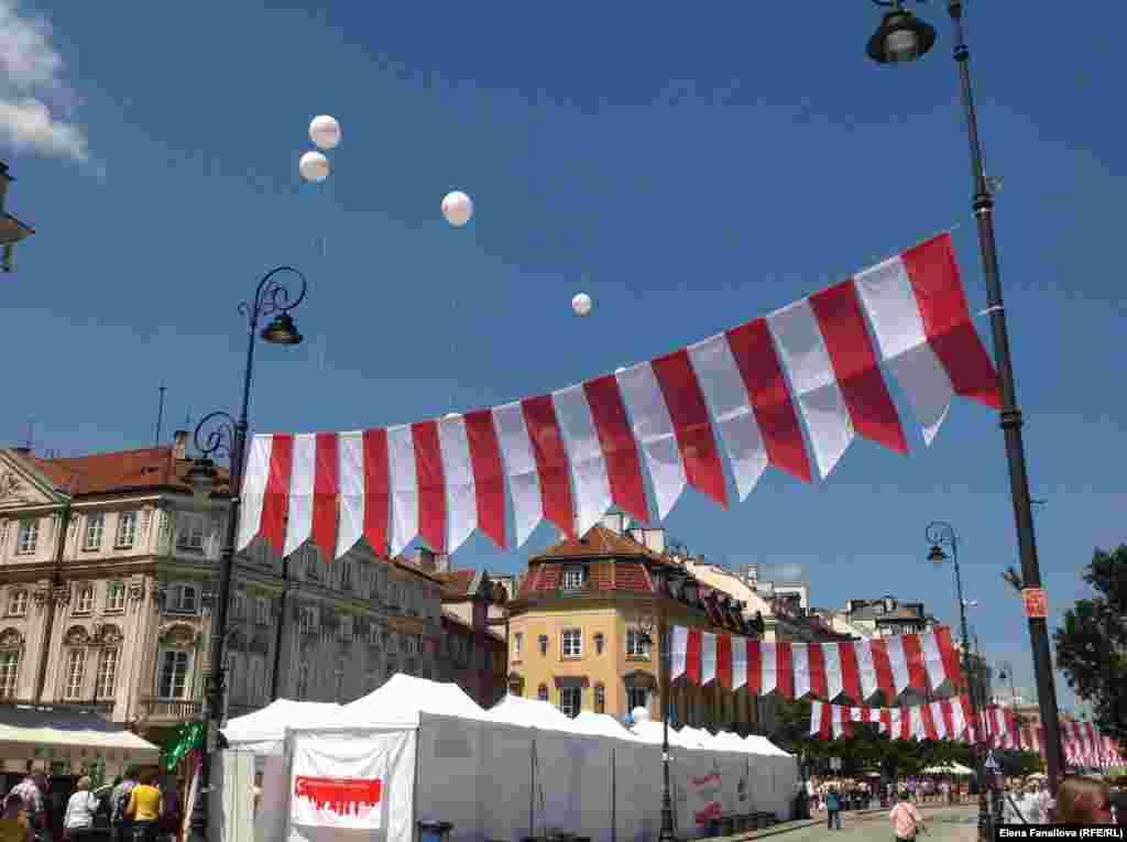 Павильоны дней Турции в Варшаве