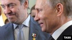 Вручение Валерию Гергиеву награды Героя Труда России – президентом Владимиром Путиным