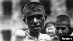 ایتام ارمنی در اواخر دوران جنگ جهانی اول.