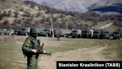 Ілюстраційне фото. Одна з російських військових баз у Криму