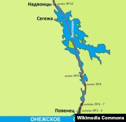 Беломорско-Балтийский канал и 8-й шлюз