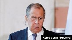سرگئی لاوروف وزیر خارجۀ روسیه