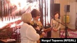 Церемония награждения медалью Союза журналистов Казахстана. Алматы, 22 декабря 2016 года.